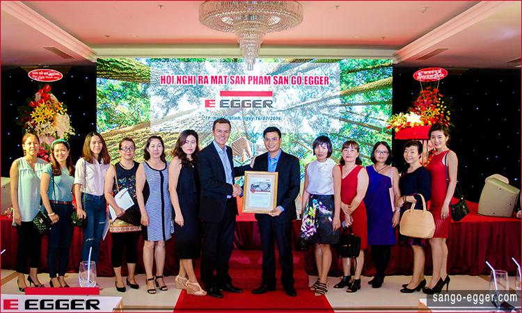Hội nghị sàn gỗ Egger - HCMC