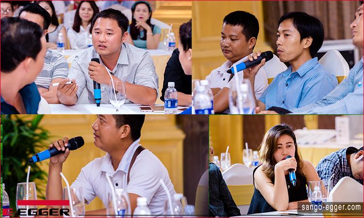 Hội nghị sàn gỗ Egger Việt Nam