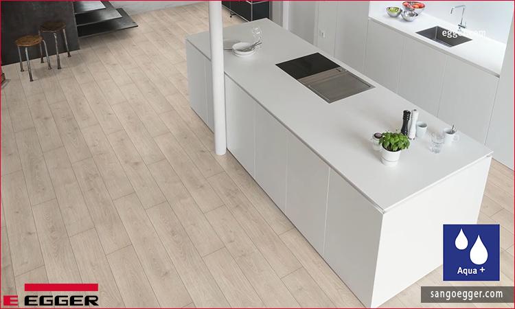 Không gian sàn gỗ Egger Aqua