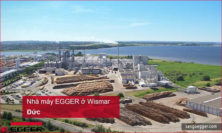 Nhà máy sản xuất sàn gỗ Egger tại Wismar, CHLB Đức