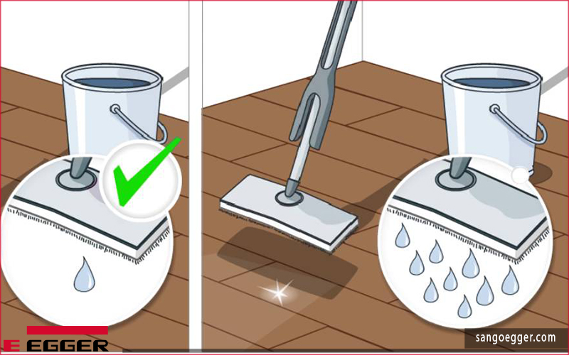 Lau chùi vệ sinh đúng cách