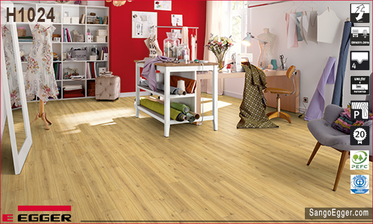 Mẫu nhà lắp sàn gỗ H1024 Egger