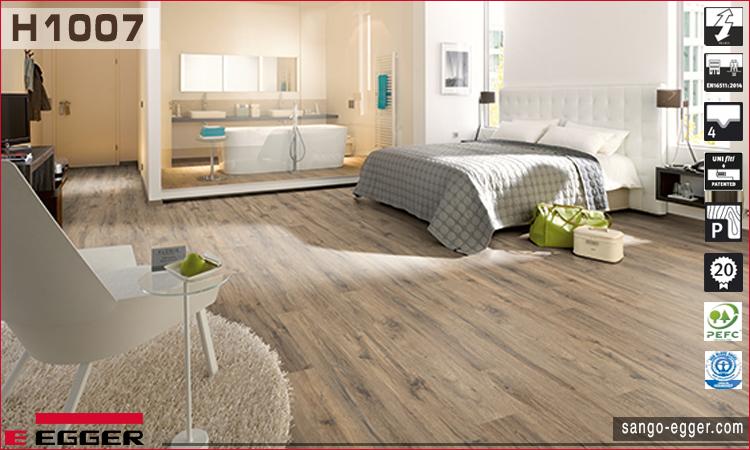 Nhà mẫu lắp sàn gỗ Egger H1007