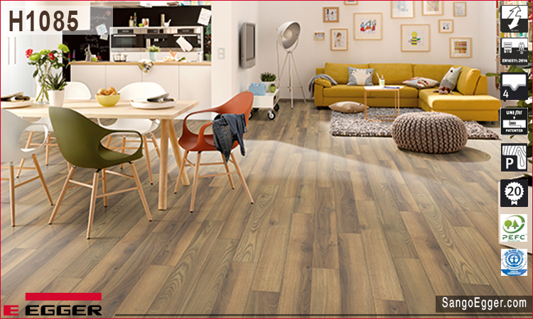Nhà mẫu lắp sàn gỗ Egger H1085