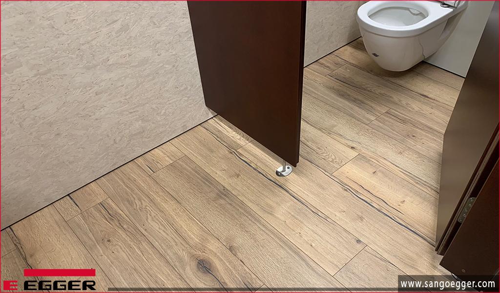 Lắp sàn gỗ trong nhà vệ  sinh - Egger Aqua điều chúng tôi có thể