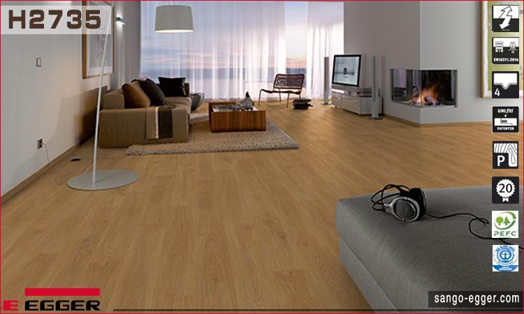 Nhà mẫu lắp sàn gỗ 2735