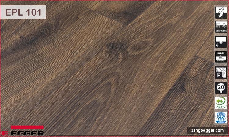 Bề mặt sàn gỗ Egger Pro 10mm EPL 101