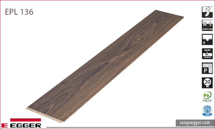 Mẫu mã sàn gỗ Egger EPL 136