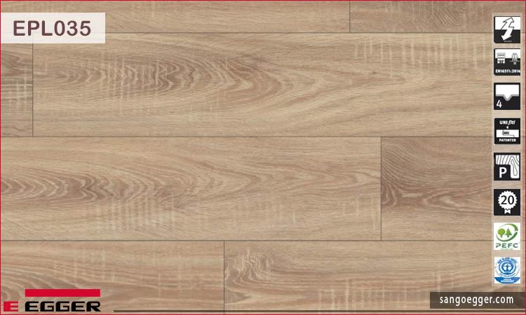 Sàn gỗ Egger EPL035 Bardolino Oak