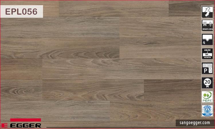 Sàn gỗ Egger Pro EPL056 Dark Admington Oak
