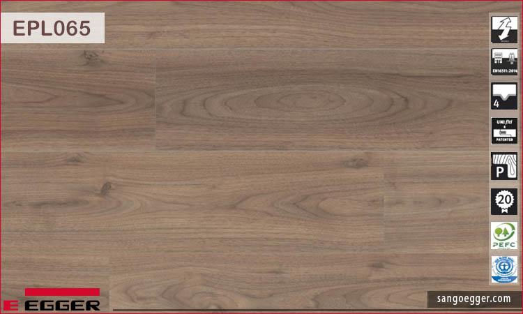 Sàn gỗ Egger EPL065 Light Langley Walnut
