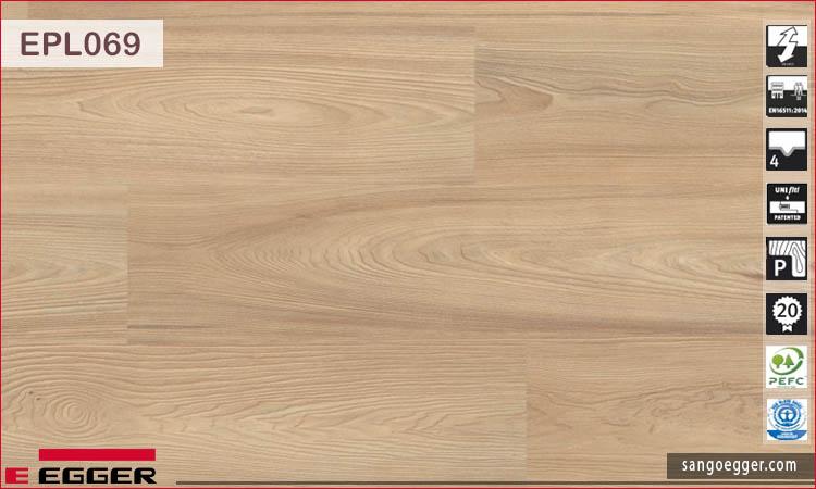 Sàn gỗ Egger Pro EPL069 Light Drayton Elm