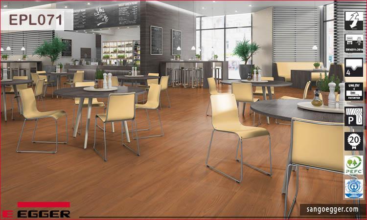 Sàn gỗ Egger Pro EPL071 Red Drayton Elm