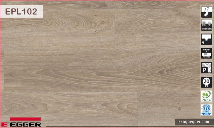 Sàn gỗ Egger Pro EPL102 Amiens Oak light