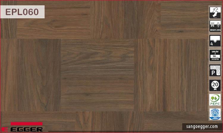 Sàn gỗ Egger Pro KingSize EPL060 Dark Belton Oak