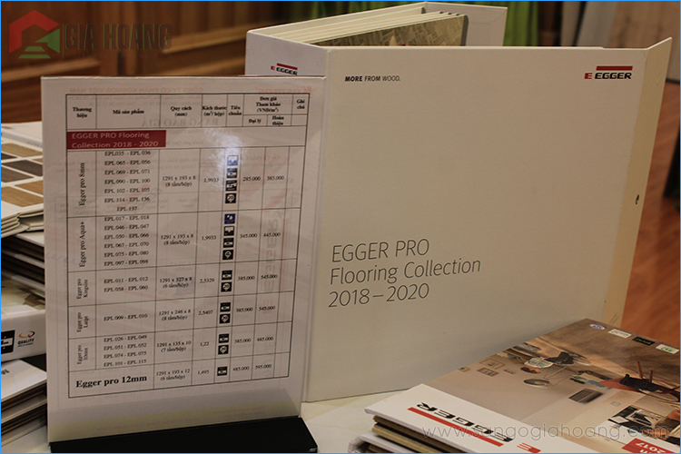 Bộ sưu tập Egger Pro 2018-2020