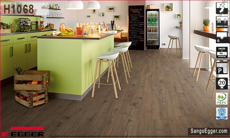 Nhà mẫu lắp sàn gỗ Egger H1068