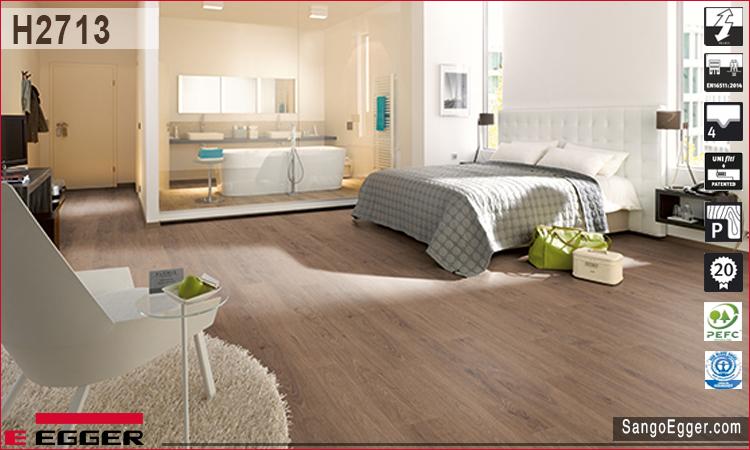 Nhà mẫu lắp sàn gỗ Egger H2713