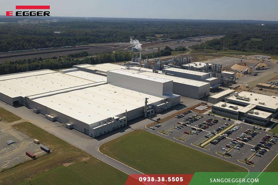 Nhà máy Egger thứ 20 đặt tại Mỹ (USA)