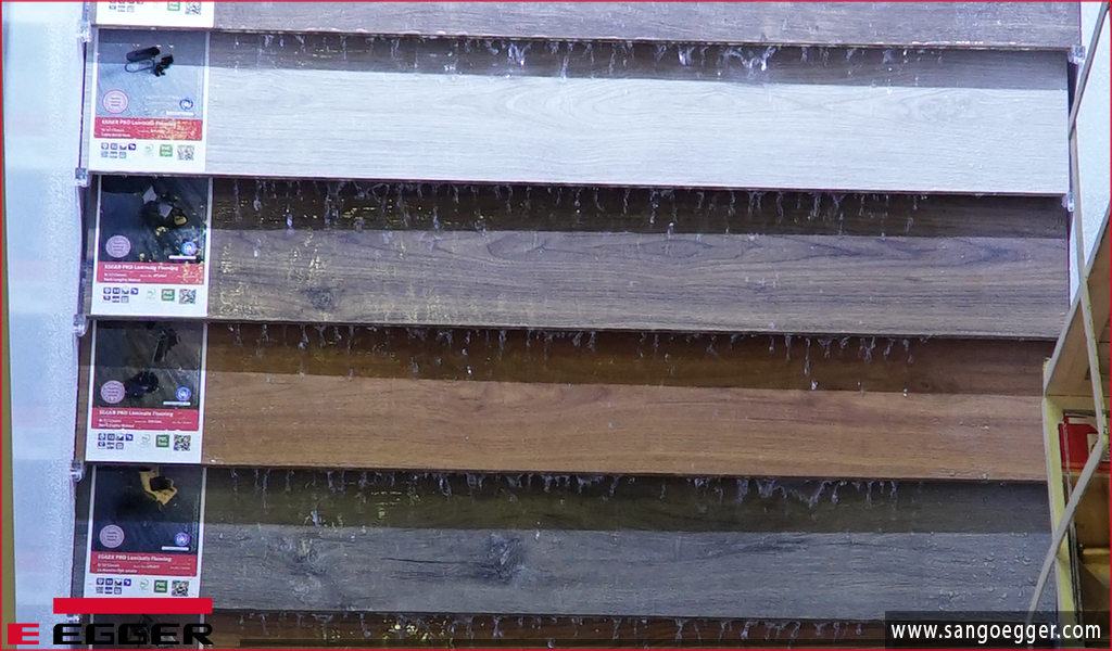 Sàn gỗ Egger Aqua vật liệu ván sàn siêu chịu nước