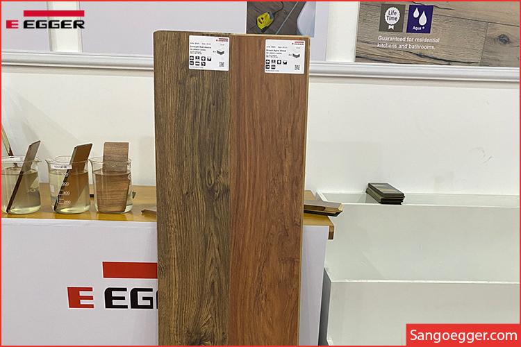 Ra mắt dòng sàn gỗ Egger 12mm Aqua Pro siêu chịu nước