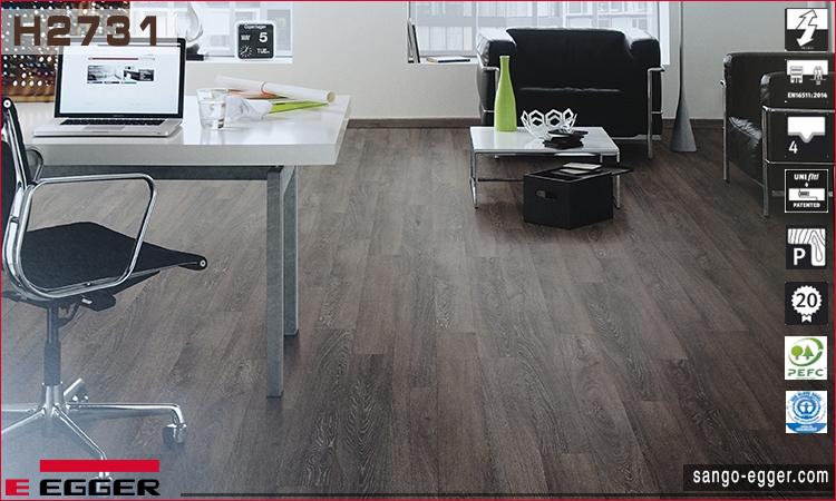 Nhà mẫu lắp sàn gỗ H2731