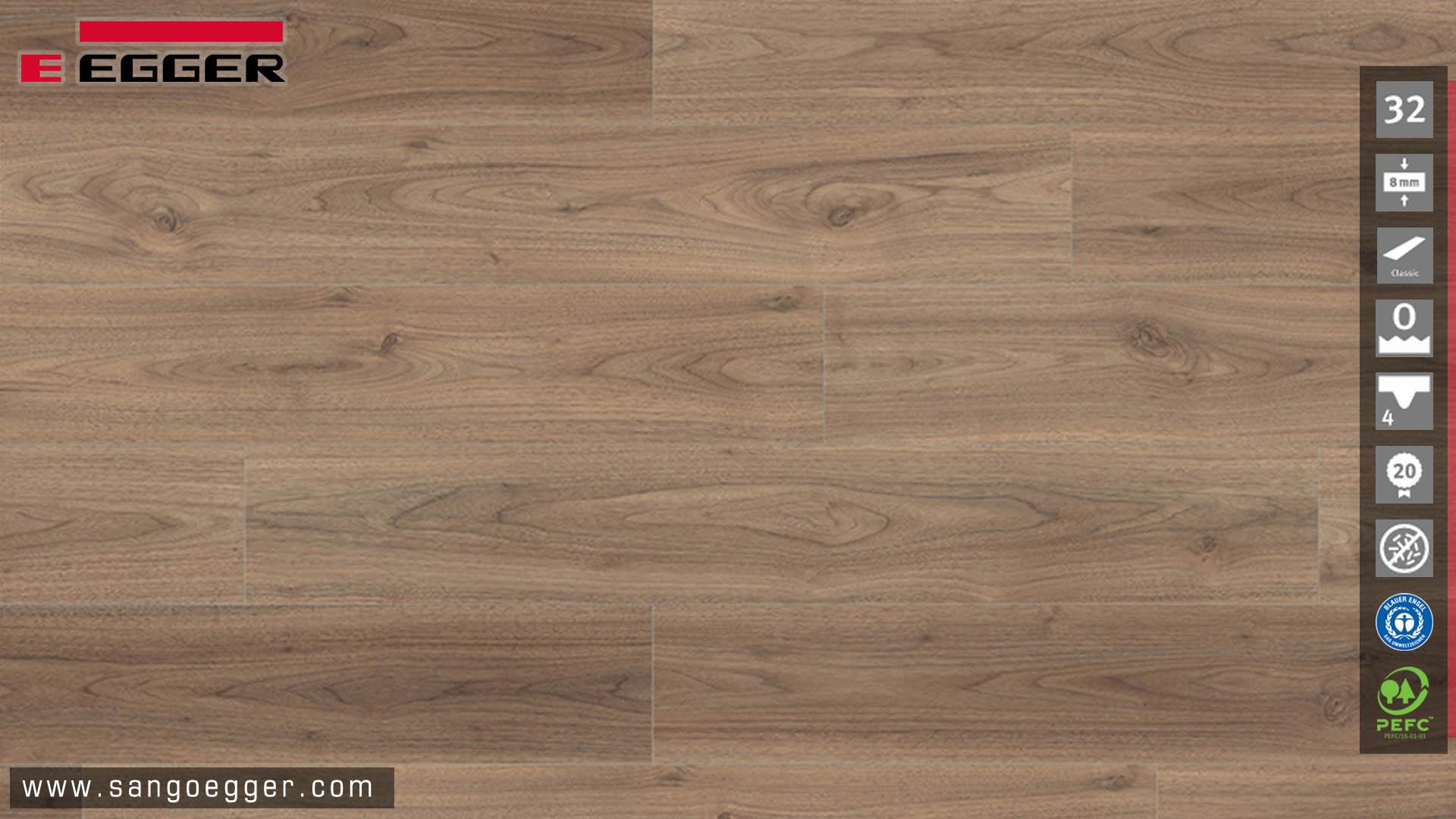 Vân bề mặt của sàn gỗ Egger EPL065 Classic