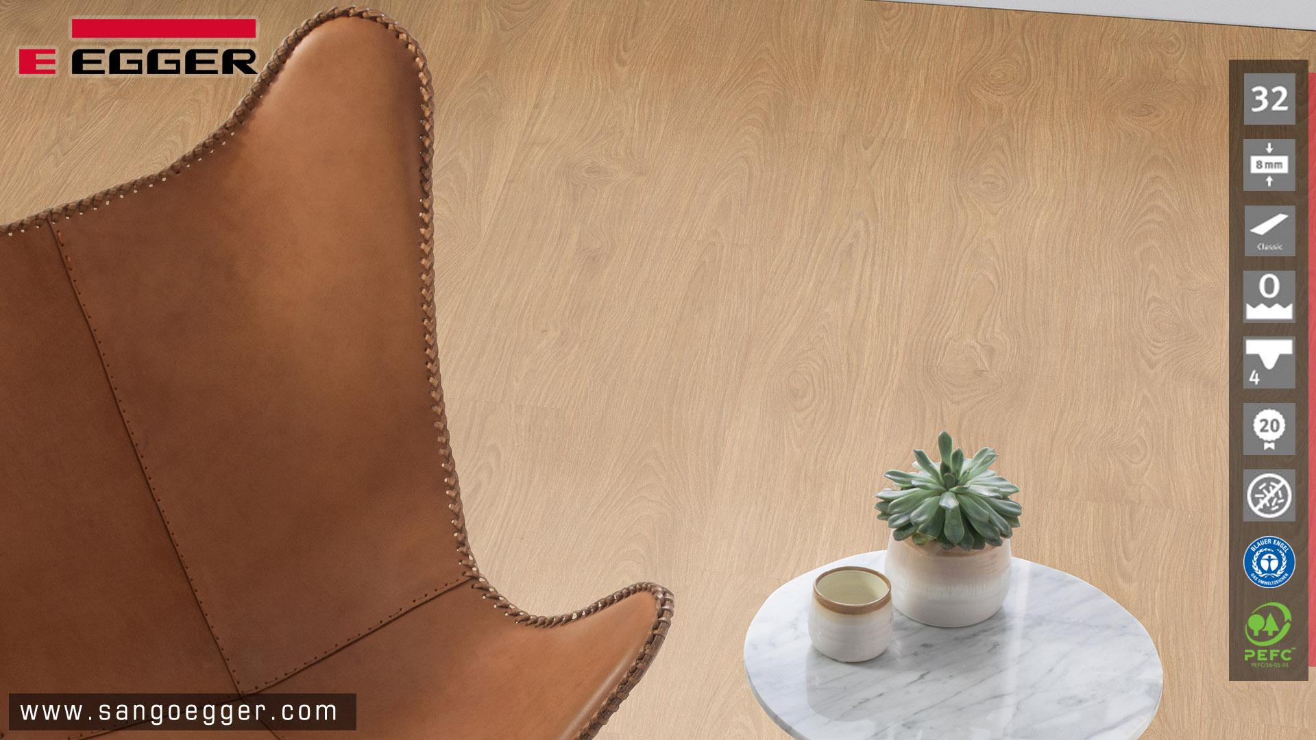 Sàn gỗ Đức Egger EPL105  Classic thực tế