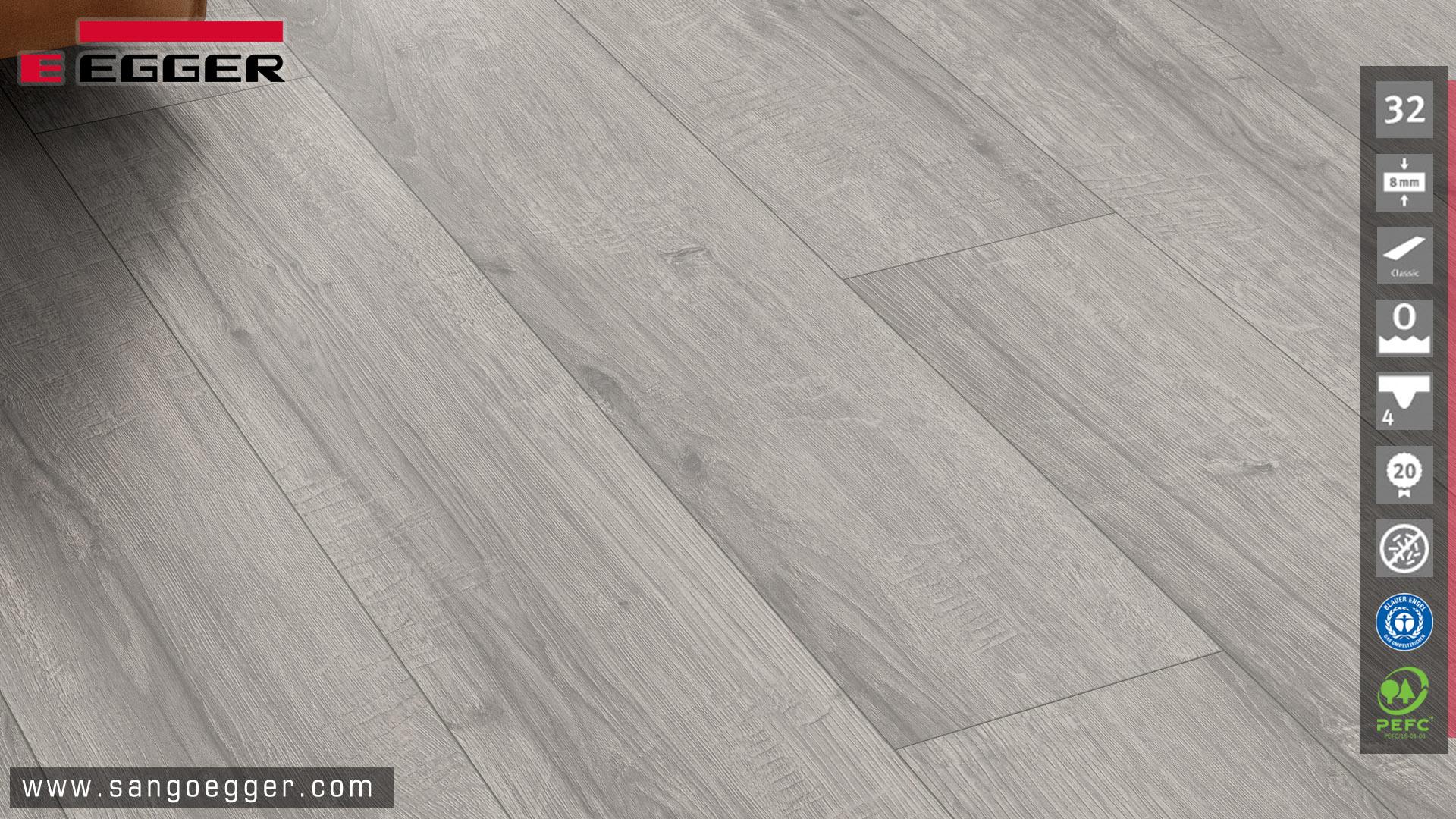 Màu sắc vân gỗ thực thế sàn gỗ Egger EPL205 Classic