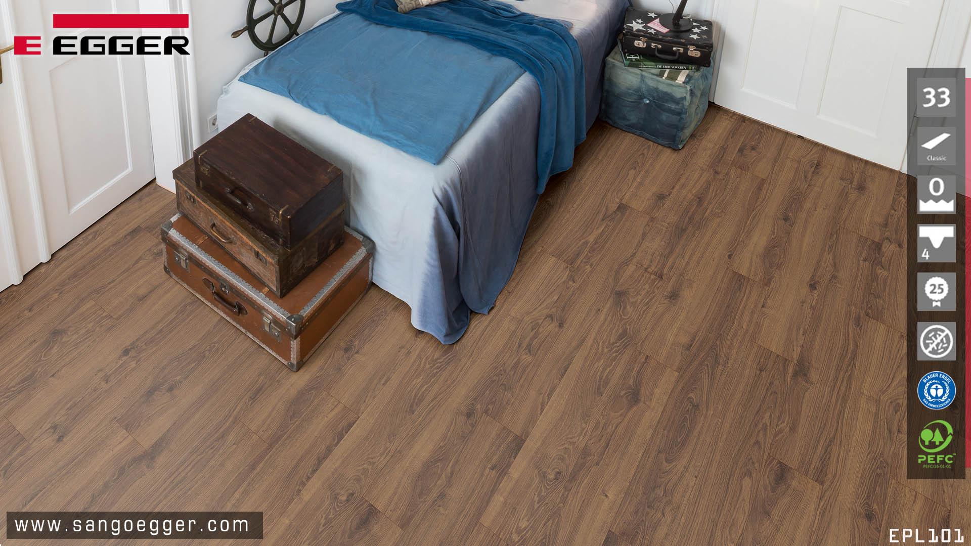 Sàn gỗ Đức chịu nước 12mm Aqua Egger EPL101
