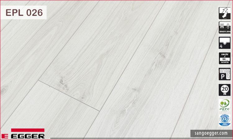 Bề mặt sàn gỗ Egger EPL026 10mm