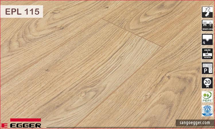 Bề mặt sàn gỗ Egger EPL 115