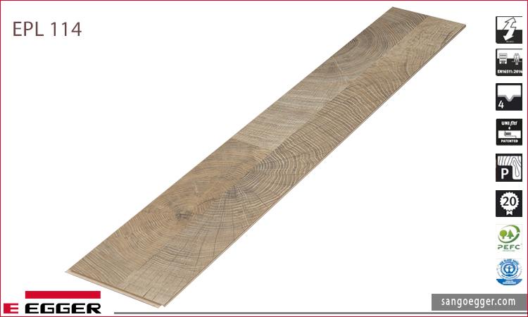 Sàn gỗ Egger Pro mã sản phẩm EPL 114
