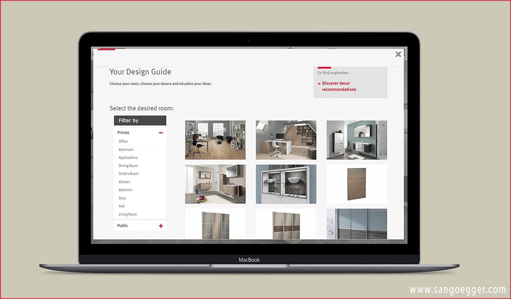 Hệ thống thiết kế Online hỗ trợ các dòng sản phẩm của Egger