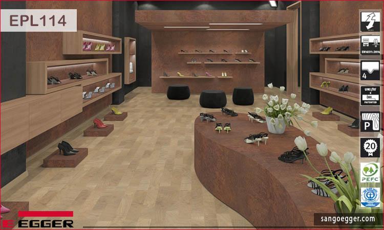 Sàn gỗ Egger Pro EPL114 Natural Talland Oak