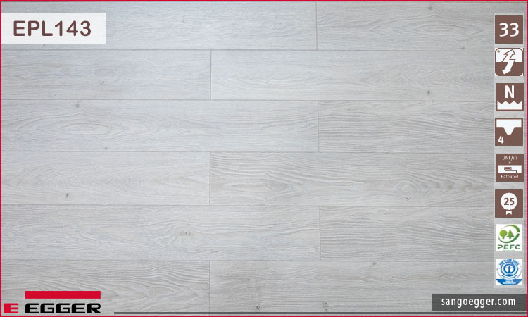 Sàn gỗ Egger Pro EPL143 12mm