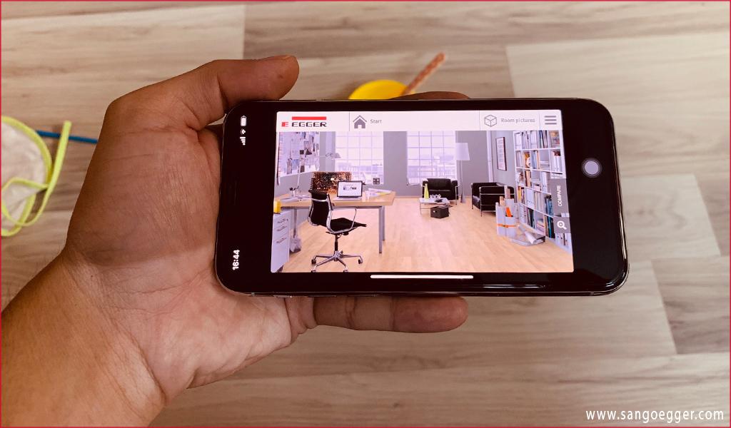 VDS ONLINE - Thiết kế ảo sàn gỗ Egger trên điện thoại